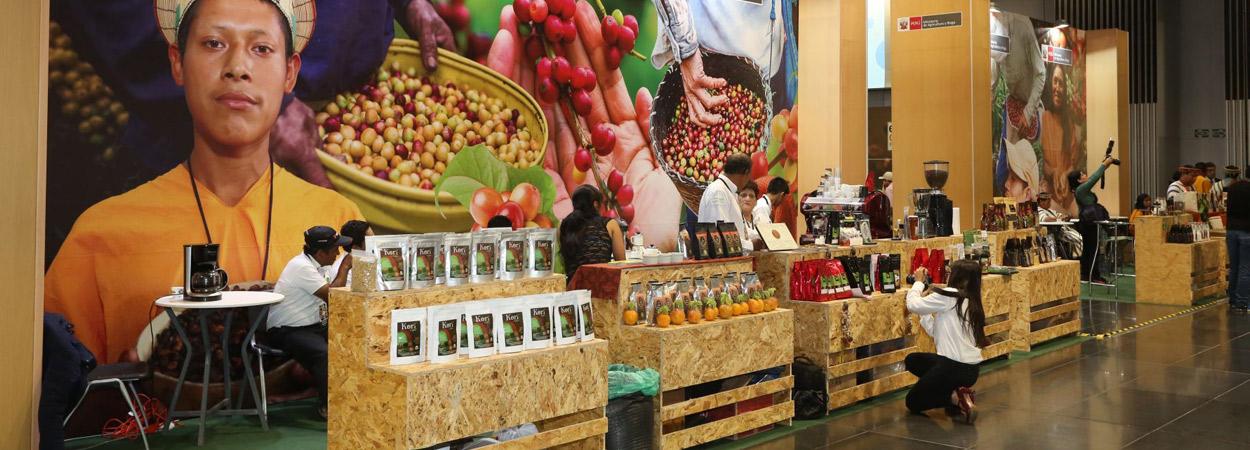 Minagri promueve un mayor consumo de café en feria regional