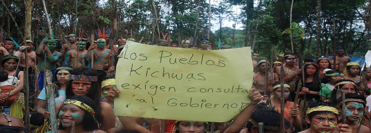 Líderes amazónicos denuncian en Holanda a Pluspetrol por contaminación al medio ambiente