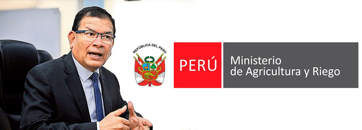 Ministro Jorge Montenegro exhorta a gobiernos locales comprar producción a agricultores