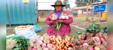 PARURO: Municipalidad de Ccapi impulsara la agricultura familiar con entrega de semillas agrícolas.